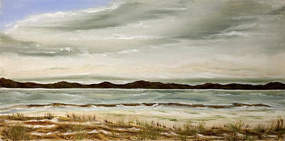 Painting - Santa Barbara Seaside by Susan Culver