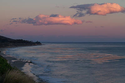 Photograph - Santa Barbara Sunset by Roger Mullenhour