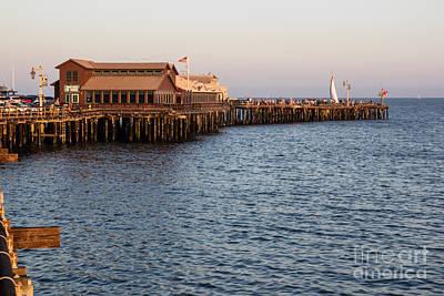Photograph - Santa Barbara Wharf by Suzanne Luft
