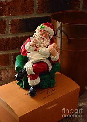 Photograph - Santa Claus 2 by Bob Sample