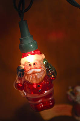 Photograph - Santa Claus - Antique Ornament - 06 by Jill Reger