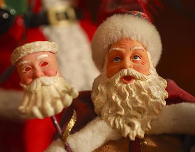 Photograph - Santa Claus - Antique Ornament - 12 by Jill Reger