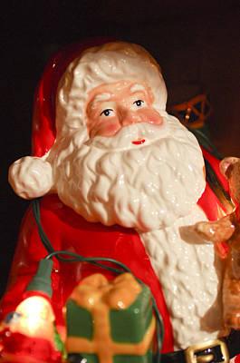 Photograph - Santa Claus - Antique Ornament - 13 by Jill Reger