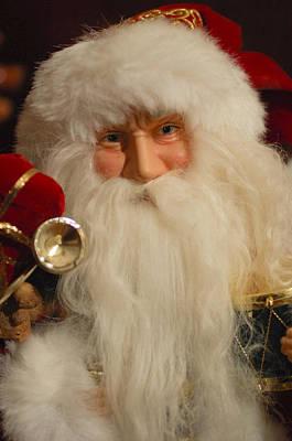 Photograph - Santa Claus - Antique Ornament - 17 by Jill Reger