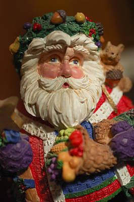 Photograph - Santa Claus - Antique Ornament - 20 by Jill Reger