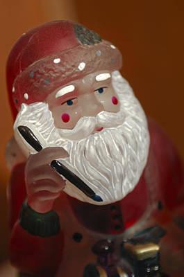 Photograph - Santa Claus - Antique Ornament - 24 by Jill Reger