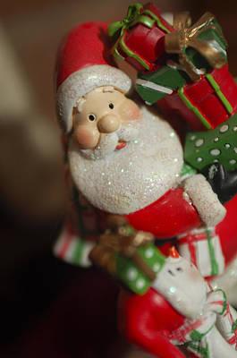 Photograph - Santa Claus - Antique Ornament - 28 by Jill Reger