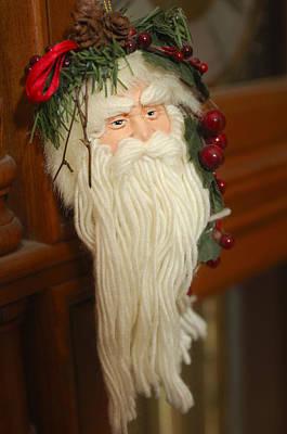 Photograph - Santa Claus - Antique Ornament - 29 by Jill Reger