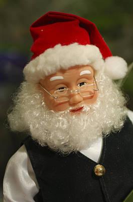 Photograph - Santa Claus - Antique Ornament - 30 by Jill Reger