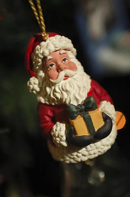 Photograph - Santa Claus - Antique Ornament - 31 by Jill Reger