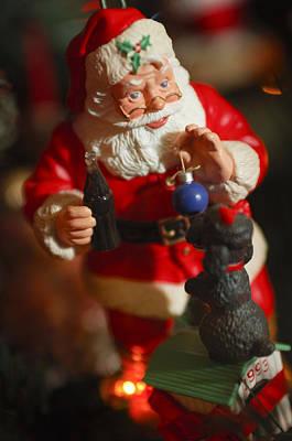 Photograph - Santa Claus - Antique Ornament - 33 by Jill Reger