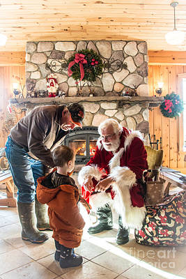 Photograph - Santa Claus by Cheryl Baxter