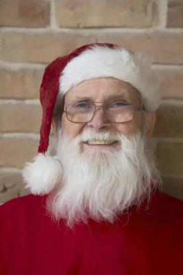 Santa Claus Digital Painting Original
