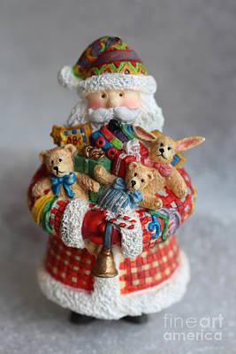 Old Stuff Digital Art - Santa Claus by Ella Kaye Dickey