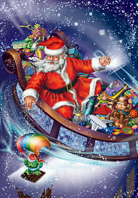 Santa Claus Original by Ingrid Magalinska