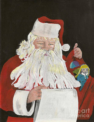Santa Claus Is Coming To Town - Making A List Original