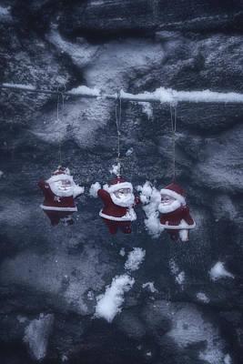 Santa Claus Print by Joana Kruse