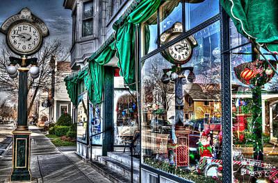 Wish List Photograph - Santa Claus Lane by Deborah Klubertanz