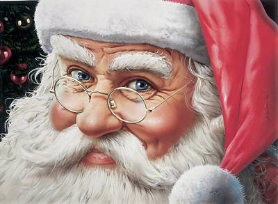 Santa Claus Original by Nilton Ramalho