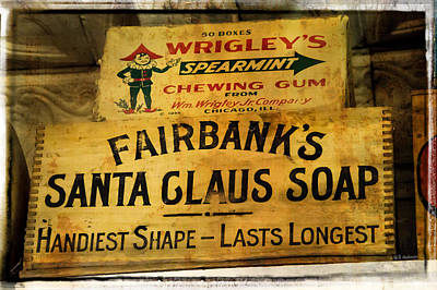 Photograph - Santa Claus Soap by Mick Anderson