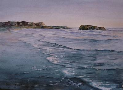 Painting - Santa Cruz Beach by Lynne Wright