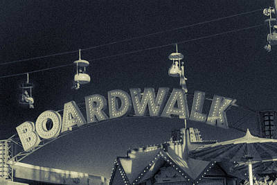 Photograph - Santa Cruz Boardwalk 2 by Scott Campbell
