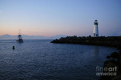 Santa Cruz Lighthouse Art Print