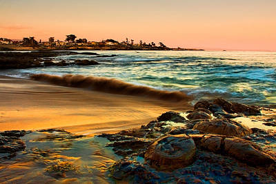Photograph - Santa Cruz Sunset by Kyle Simpson