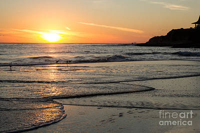 Photograph - Santa Cruz Sunset by Suzanne Luft