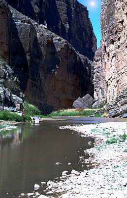 Photograph - Santa Elena Canyon by Judy Hall-Folde