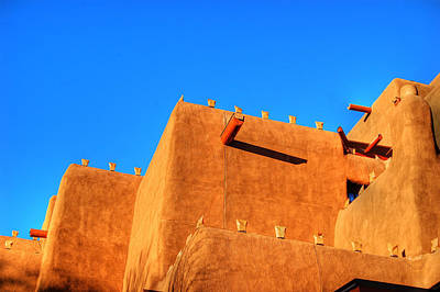 Photograph - Santa Fe Adobe by Bill Hamilton