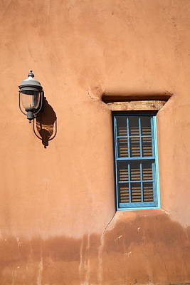 Photograph - Santa Fe - Adobe Window And Light by Frank Romeo