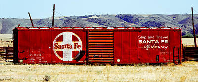 Santa Fe - All The Way Art Print