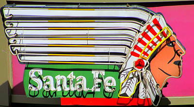 Photograph - Santa Fe By Day by Randall Weidner