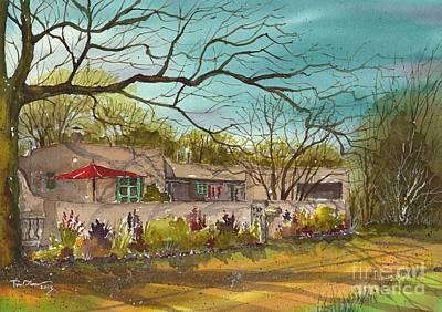 Santa Fe Casa Art Print