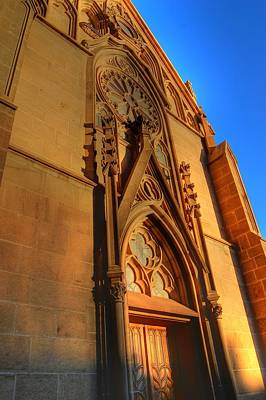 Photograph - Santa Fe Church by Bill Hamilton