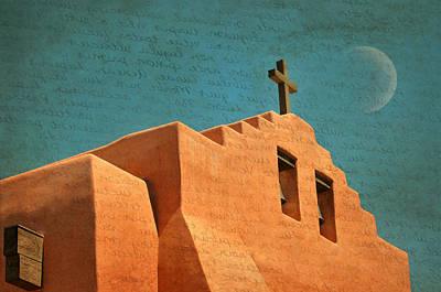 Photograph - Santa Fe Cross by Diana Angstadt