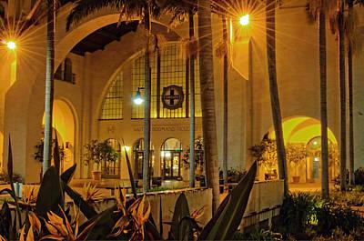 Santa Fe Depot- San Diego Art Print