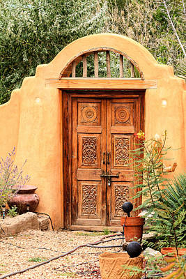Photograph - Santa Fe Door 2 by Ben Graham