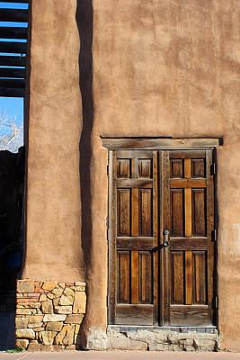 Photograph - Santa Fe Doorway by Keith May