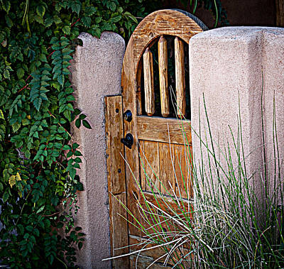 Art Print featuring the photograph Santa Fe Gate by Patrice Zinck