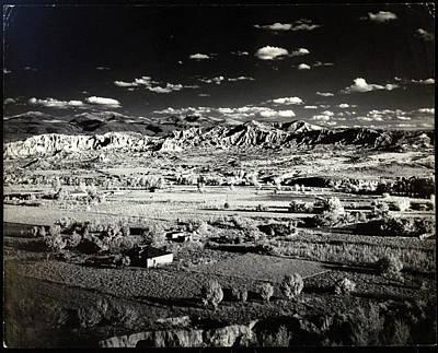 Santa Fe In New Mexico Art Print