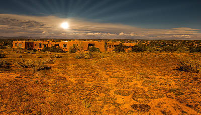 Photograph - Santa Fe Landscape by John Johnson