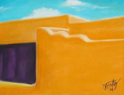 Pastel - Santa Fe Life by Michael Foltz