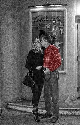 Digital Art - Santa Fe Lovers by Carrie OBrien Sibley