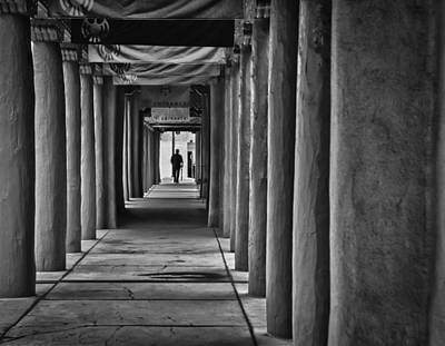 Art Print featuring the photograph Santa Fe New Mexico Walkway by Ron White