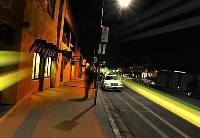 Photograph - Santa Fe Night by Diana Angstadt