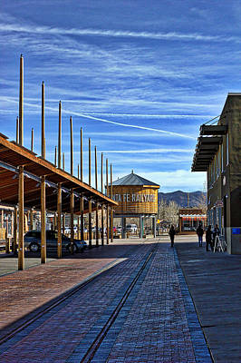 Photograph - Santa Fe Railyard by Dave Garner