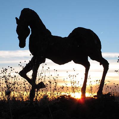 Photograph - Santa Fe Sunset by Keith May