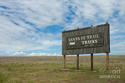 Conestoga Photograph - Santa Fe Trail by Richard and Ellen Thane